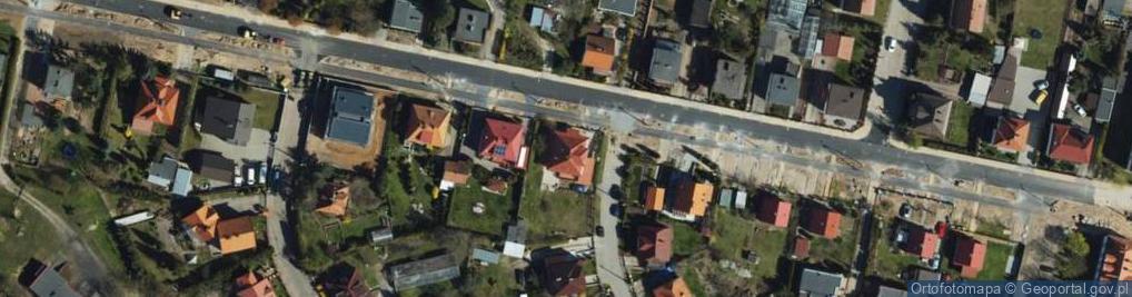 Zdjęcie satelitarne Jackowskiego ul.