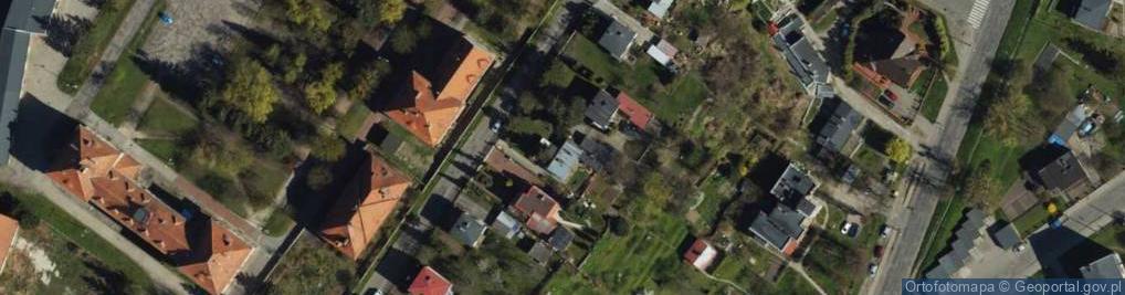 Zdjęcie satelitarne Jagiellończyka ul.