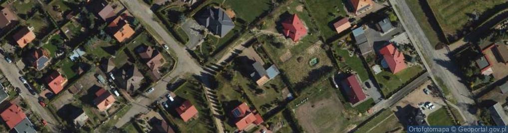 Zdjęcie satelitarne Jaskrowa ul.