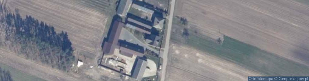 Zdjęcie satelitarne Jabłonów ul.