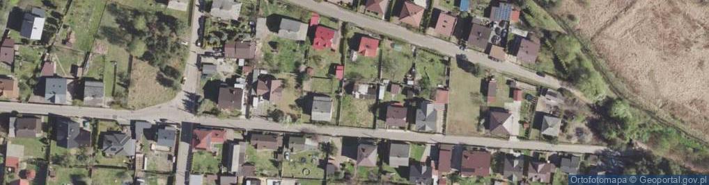 Zdjęcie satelitarne Jana Olbrachta ul.