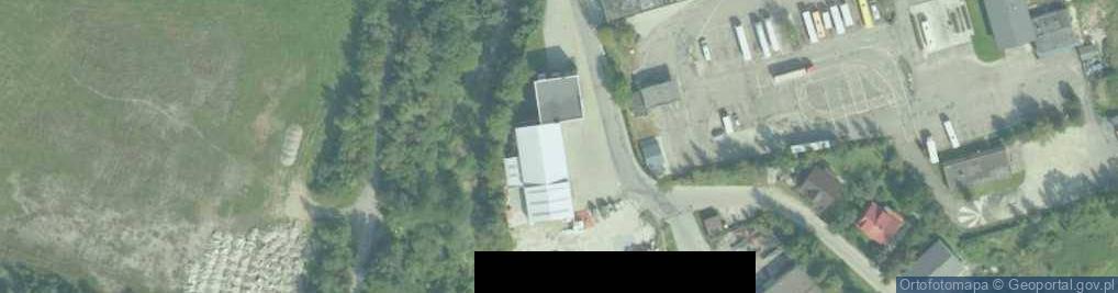 Zdjęcie satelitarne Jabłoniecka ul.
