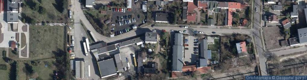 Zdjęcie satelitarne Jasień ul.
