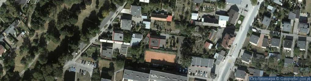 Zdjęcie satelitarne Jankowska ul.