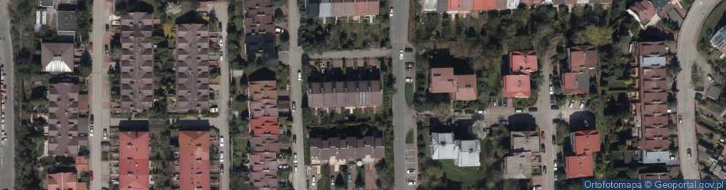 Zdjęcie satelitarne Jantarowa ul.