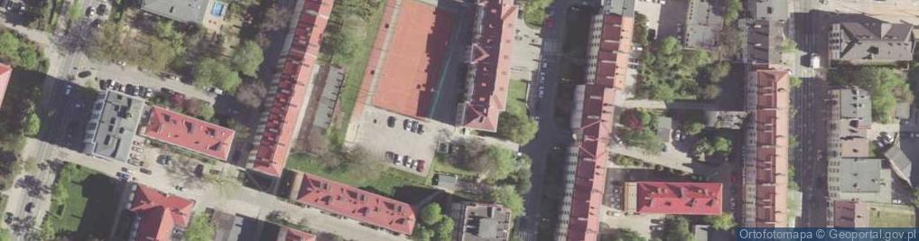 Zdjęcie satelitarne Jaracza Stefana ul.