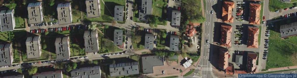 Zdjęcie satelitarne Jaśminów ul.