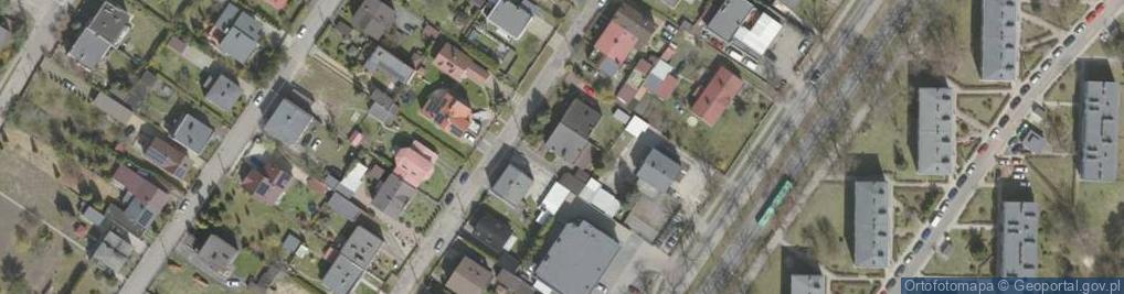 Zdjęcie satelitarne Jadwigi Śląskiej ul.