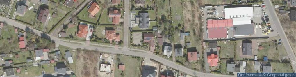 Zdjęcie satelitarne Jaronia Nikodema ul.