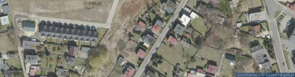 Zdjęcie satelitarne Jastrzębia ul.