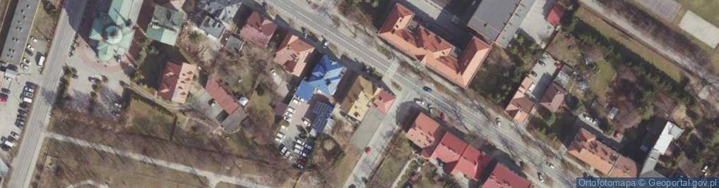 Zdjęcie satelitarne Jałowego Józefa, ks. ul.