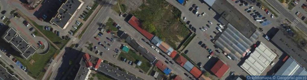 Zdjęcie satelitarne Jasińskiego Jakuba ul.