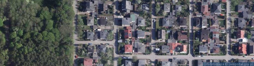 Zdjęcie satelitarne Jagodowa ul.