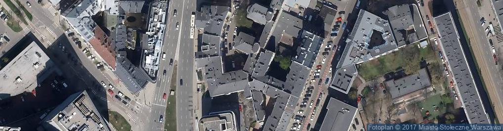 Zdjęcie satelitarne Jaworzyńska ul.
