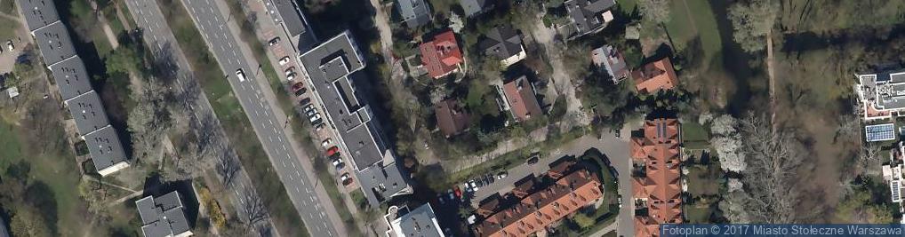Zdjęcie satelitarne Jazgarzewska ul.