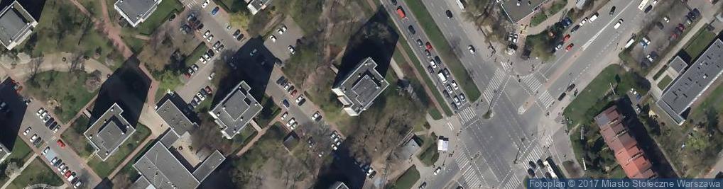 Zdjęcie satelitarne Jałtańska ul.