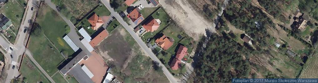 Zdjęcie satelitarne Jachtowa ul.