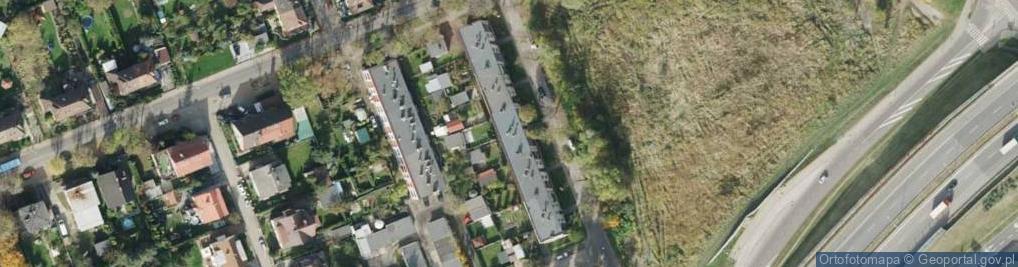 Zdjęcie satelitarne Jaskółcza ul.