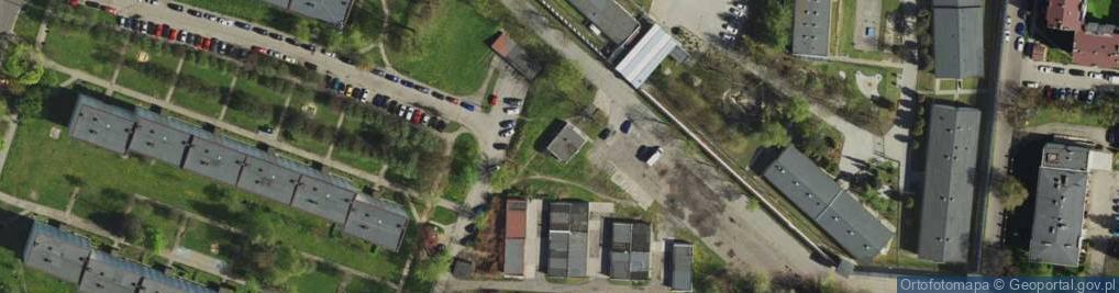 Zdjęcie satelitarne Janika Pawła, ks. ul.