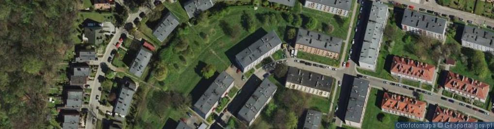 Zdjęcie satelitarne Jaworowa ul.