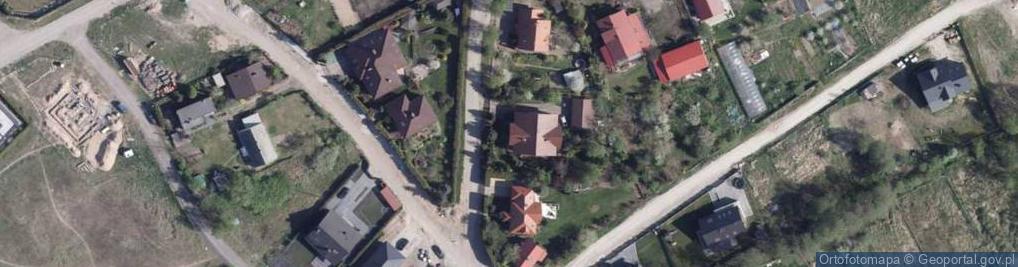 Zdjęcie satelitarne Jesienna ul.