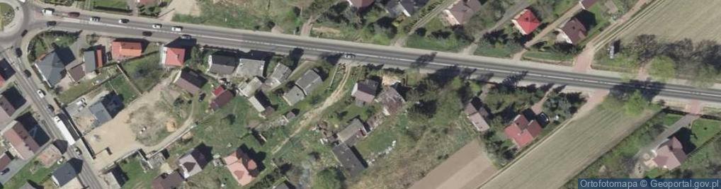 Zdjęcie satelitarne Jedwabieńska ul.