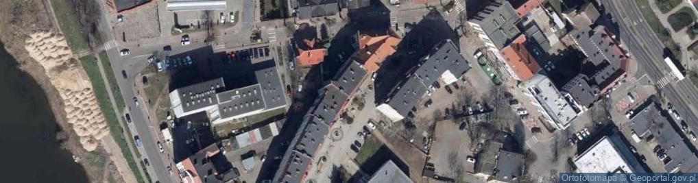 Zdjęcie satelitarne Jedności Robotniczej ul.