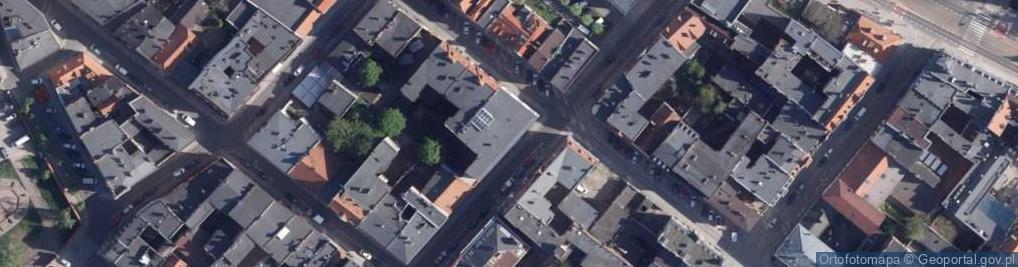 Zdjęcie satelitarne Jęczmienna ul.