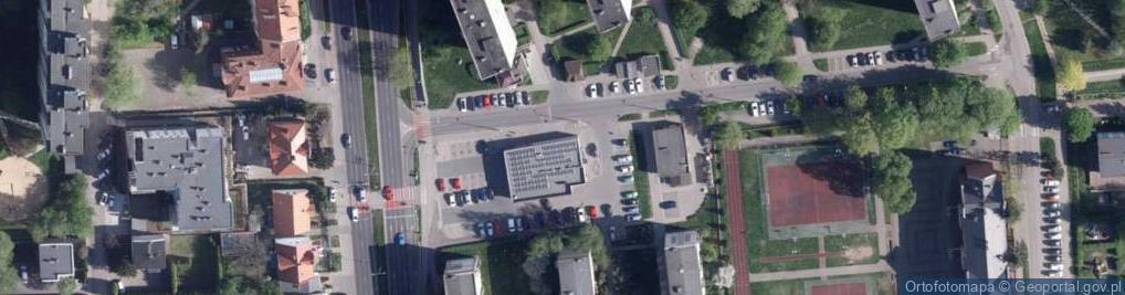 Zdjęcie satelitarne Jeśmanowicza Leona ul.