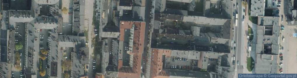 Zdjęcie satelitarne Joselewicza Berka, płk. ul.