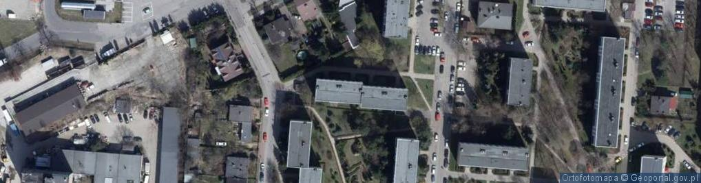 Zdjęcie satelitarne Jonschera Karola, dr. ul.