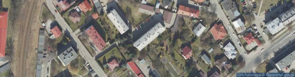 Zdjęcie satelitarne Jordana Henryka ul.