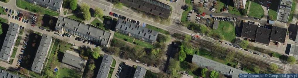 Zdjęcie satelitarne Joanny ul.