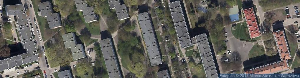 Zdjęcie satelitarne Joliot-Curie Fryderyka ul.
