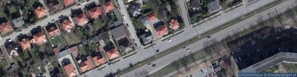 Zdjęcie satelitarne Julianowska ul.