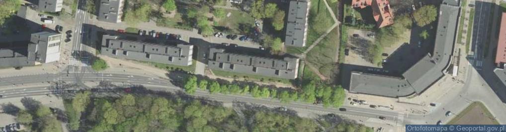 Zdjęcie satelitarne Kalinowskiego K. ul.
