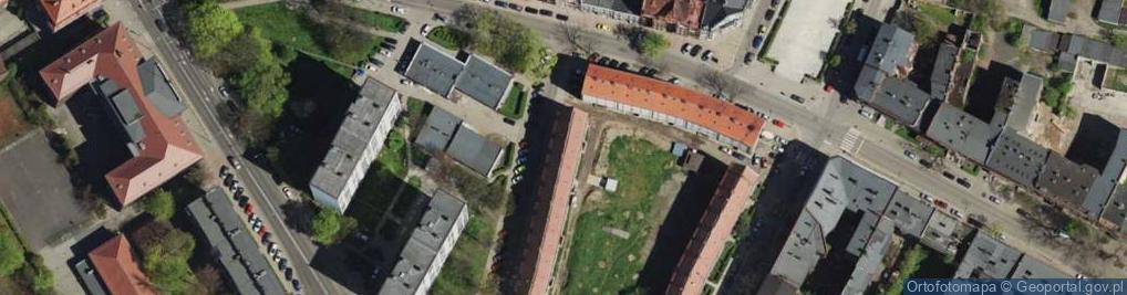 Zdjęcie satelitarne Kasperka Jana ul.