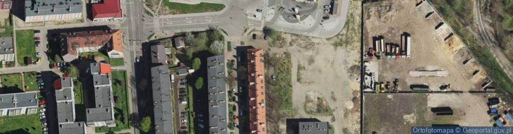 Zdjęcie satelitarne Karlika ul.