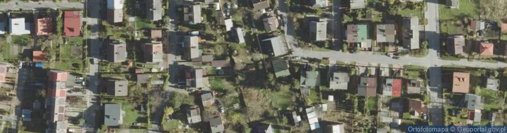 Zdjęcie satelitarne Kaflarska ul.