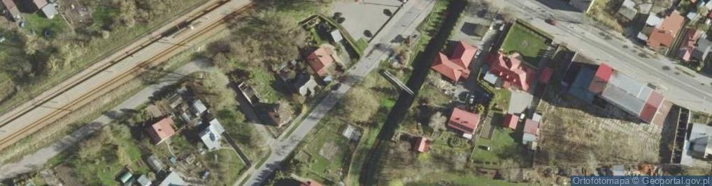 Zdjęcie satelitarne Kąpieliskowa ul.