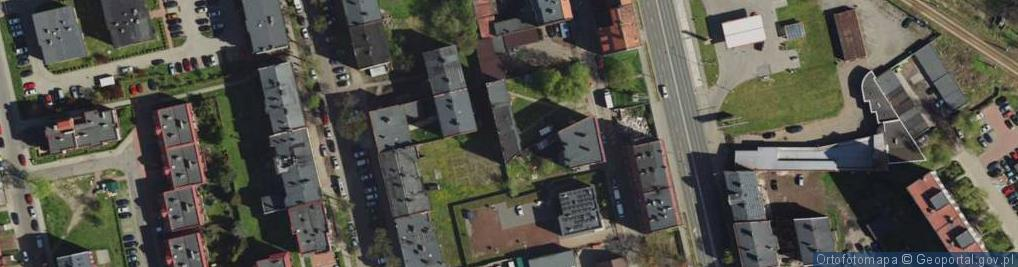 Zdjęcie satelitarne Kalidego Teodora ul.