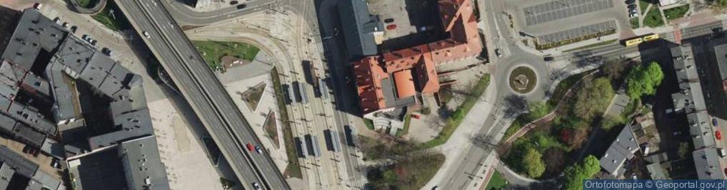 Zdjęcie satelitarne Katowicka ul.