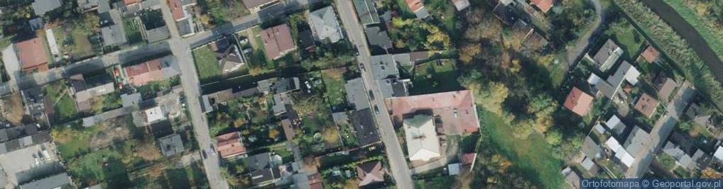 Zdjęcie satelitarne Kaczorowska ul.