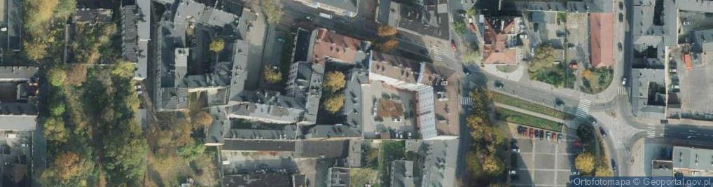 Zdjęcie satelitarne Katedralna ul.
