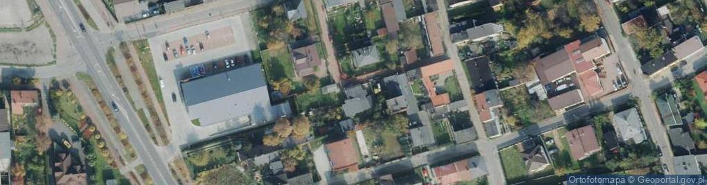 Zdjęcie satelitarne Kątna ul.
