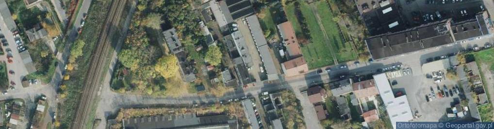 Zdjęcie satelitarne Kawia ul.