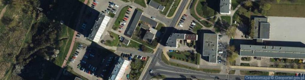 Zdjęcie satelitarne Kalinkowa ul.