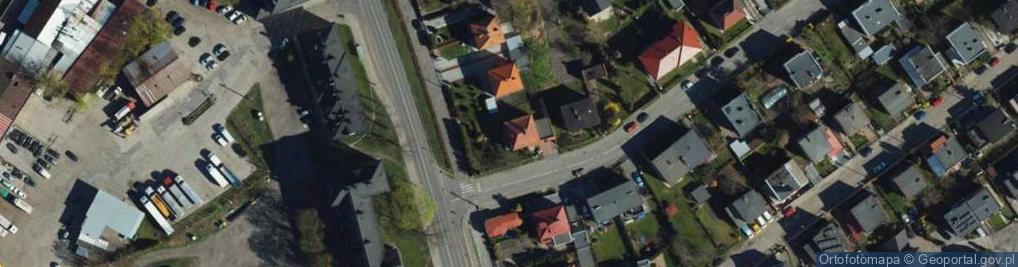 Zdjęcie satelitarne Karabinierów ul.