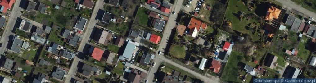 Zdjęcie satelitarne Kasprzaka ul.