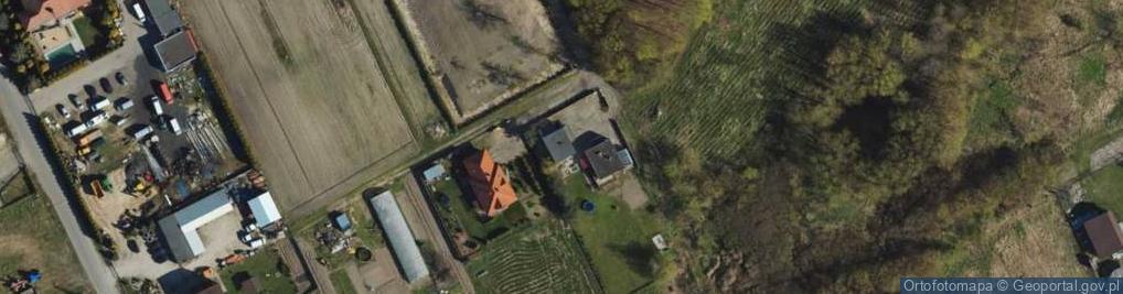 Zdjęcie satelitarne Kaubego Tadeusza ul.